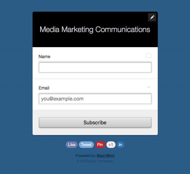 media marketing communications by robert bridge